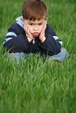 Emoties van het kind Royalty-vrije Stock Foto