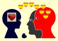 Emotioal oordning Arkivbild