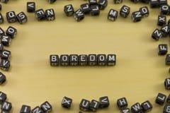 The emotion of boredom Royalty Free Stock Photo