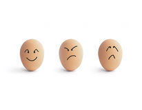 Emotion Eggs Stock Photography