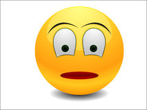 Emotion Face. S for internet using .You can change them because you have a layered eps file Royalty Free Stock Photo