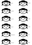 Emotion Faces Royalty Free Stock Photo