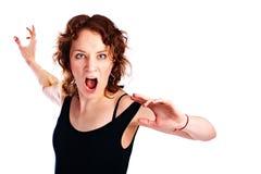 Emotion girl Royalty Free Stock Image