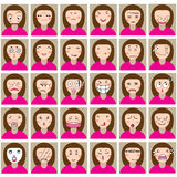Emotion girl Royalty Free Stock Photos