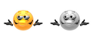 Emotion icons Stock Images