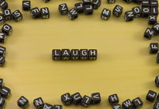 The emotion of laugh. As a state Royalty Free Stock Photography