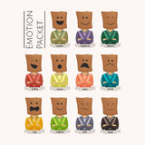 Emotion Packet Stock Images