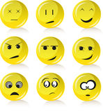 Emotion smiles Stock Image