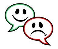Emotion symbol. Creative design of emotion symbol Royalty Free Stock Photography