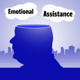 Emotional assistance Royalty Free Stock Image