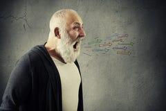 Free Emotional Bearded Man Screaming Royalty Free Stock Image - 63700586