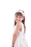 Emotional beautiful little girl Royalty Free Stock Photo