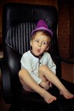 Emotional boy Royalty Free Stock Image