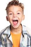 Emotional boy Stock Photography