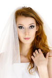 Emotional bride Royalty Free Stock Images
