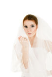 Emotional bride Royalty Free Stock Photography
