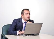 Emotional businessman Stock Images