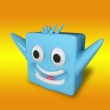 Emotional cube Royalty Free Stock Photo