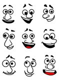 Emotional faces Royalty Free Stock Photo