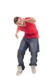 Emotional guy screaming Royalty Free Stock Image