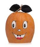 Emotional halloween pumpkin Stock Images