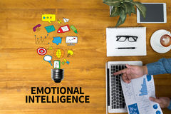 EMOTIONAL INTELLIGENCE Stock Photography