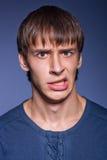 Emotional man Stock Image