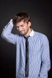 Emotional man Royalty Free Stock Image