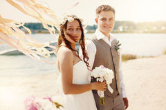 Emotional Moment of Wedding Day Stock Image