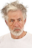 Emotional Older Man Royalty Free Stock Photo