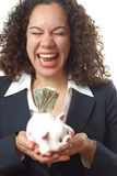 Emotional over money Stock Images