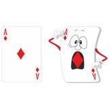 Playing card set 13. Emotional playing card set 13 Stock Images