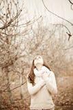 Emotional portrait Royalty Free Stock Photography