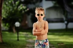 Young boy Stock Photography