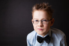 Emotional portrait of little boy Stock Photo