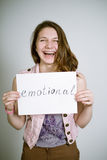 Emotional Royalty Free Stock Photos