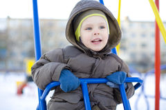 The emotional small child Royalty Free Stock Photos
