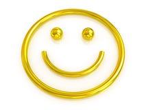 Emotional smiley Stock Photo