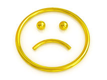 Emotional smiley Stock Photography