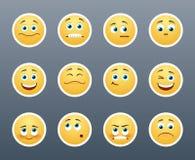 Emotional Stickers Stock Photo