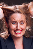 Emotional stress Royalty Free Stock Photo