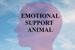 Emotional Support Animal concept Royalty Free Stock Photos