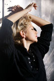 Emotional woman portrait Stock Photos