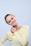 Emotional young model posing in studio Stock Image