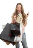 Emotionales Mädchen Lizenzfreie Stockfotos