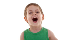 Emotionally Kid Royalty Free Stock Photography