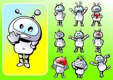 Emotioneel personage vector illustratie
