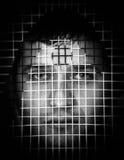 Emotionele gevangenis royalty-vrije stock foto