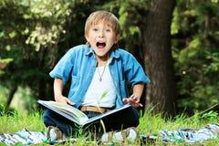 emotionell pojke Fotografering för Bildbyråer