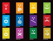 emotionell spectrum royaltyfri illustrationer